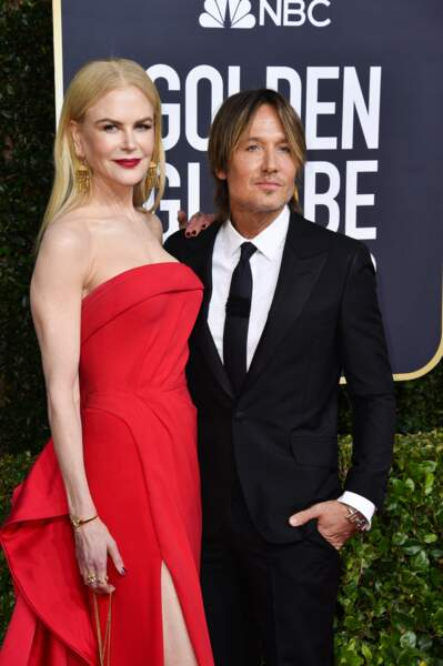 Nicole Kidman et son époux Keith Urban