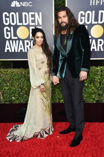 Lisa Bonet et Jason Momoa