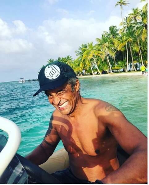 Yannick Noah aux Îles San Blas