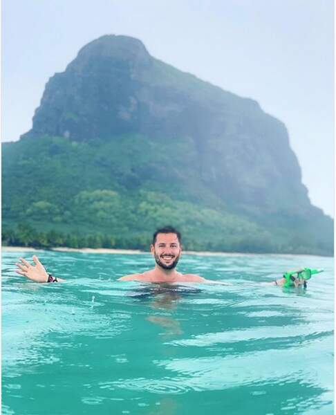 Maxime Guény sur l'île Maurice…