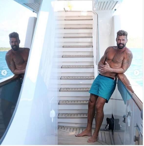 Plus de photos sexy : ici Ricky Martin, 48 ans