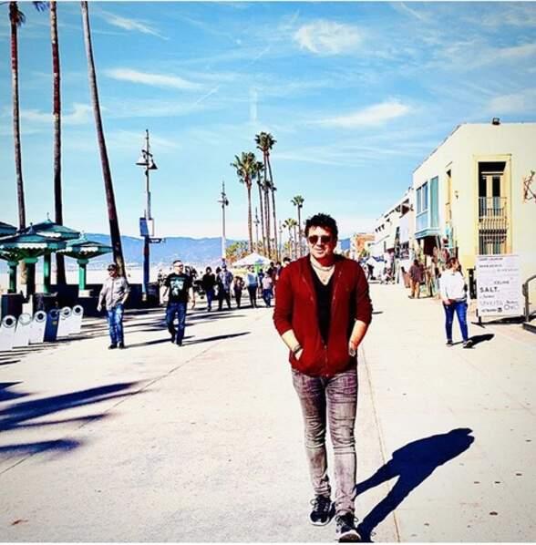 Patrick Bruel à Los Angeles…