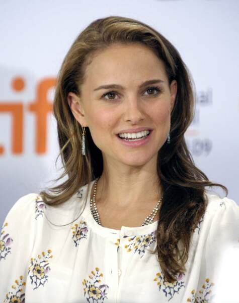"""En 2009, l'actrice donne une conférence de presse à l'occasion de la sortie du film """"Un hiver à Central Park"""". Elle est aussi productrice de ce long métrage"""