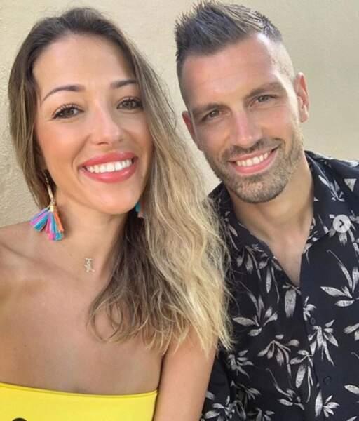 Morgan Schneiderlin (Everton) et sa chérie Camille Sold (Koh Lanta)