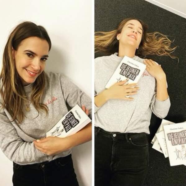 et Charlotte Gabris qui présente son livre