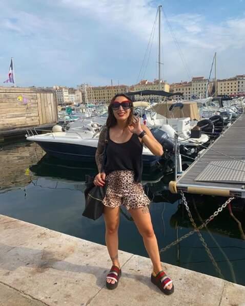 Noelia Pons s'est visiblement bien acclimatée à Marseille