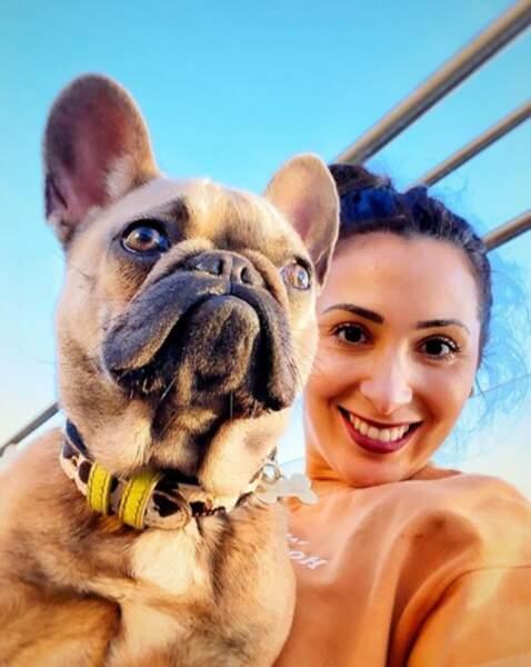 Et aussi de son chien, Frida !