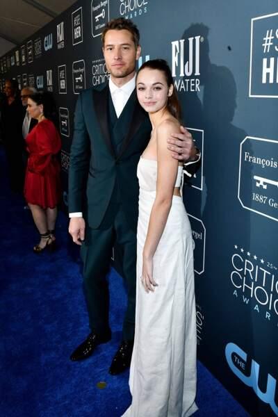 Justin Hartley (This is Us) s'est rendu aux Critic's Choice Awards en compagnie de sa fille de 15 ans, Isabella