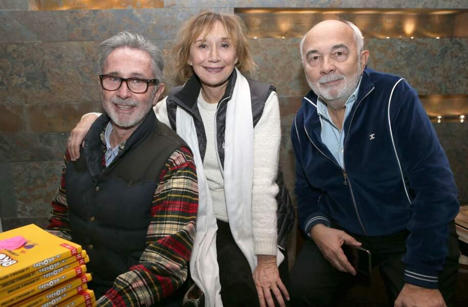 Thierry Lhermitte, Marie-Anne Chazel et Gérard Jugnot