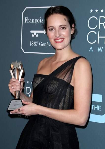 Phoebe Waller-Bridge et sa série Fleabag ont obtenu trois prix