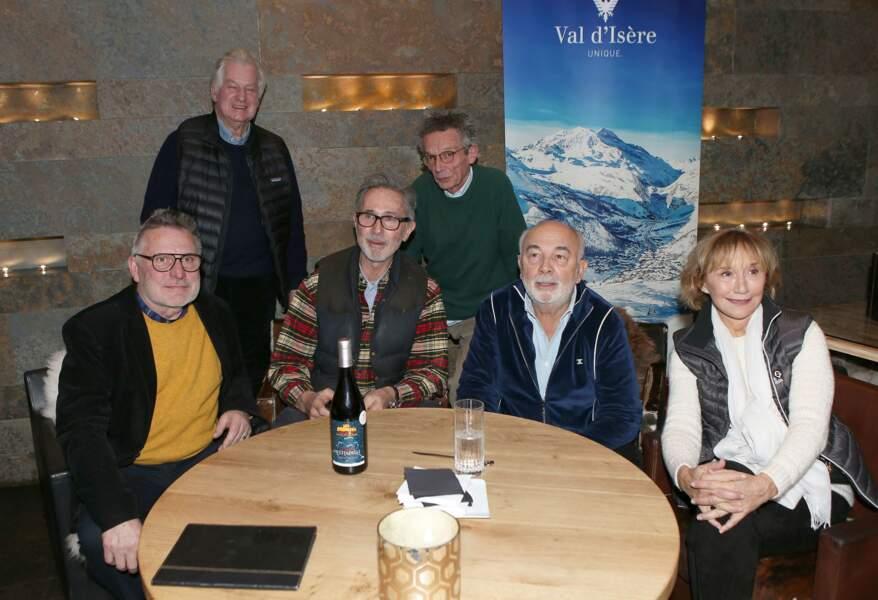Patrice Leconte et le producteur Yves Rousset-Rouard se joignent aux acteurs