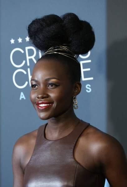 Lupita Nyong'o a fait sensation avec son look