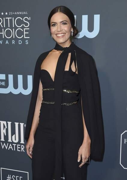 Mandy Moore, qui campe le rôle de Rebecca dans This is Us, avait opté pour une tenue toute en sobriété
