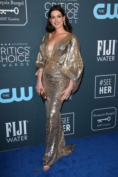 Anne Hathaway a fait crépiter les flashs !