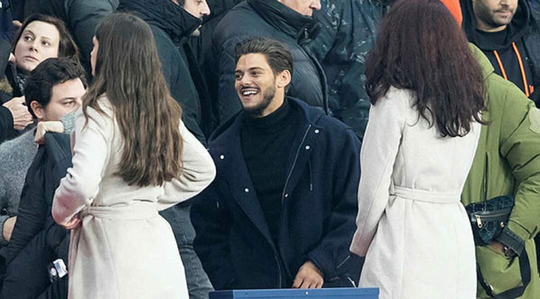 Peu importe le résultat, Rayane Bensetti avait le sourire dimanche soir au Parc des Princes