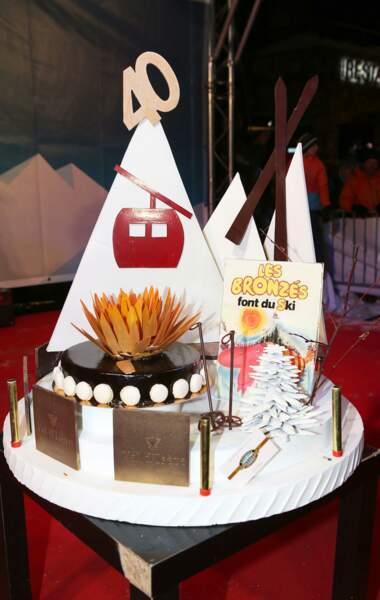 Et un beau gâteau pour fêter les 40 ans du film !