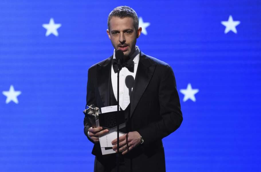 Jeremy Strong est reparti avec la statuette du Meilleur acteur pour son rôle dans Succession