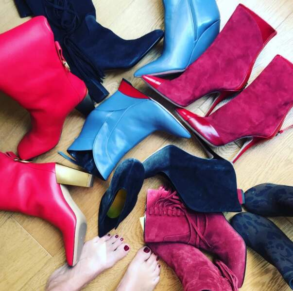 … les chaussures…