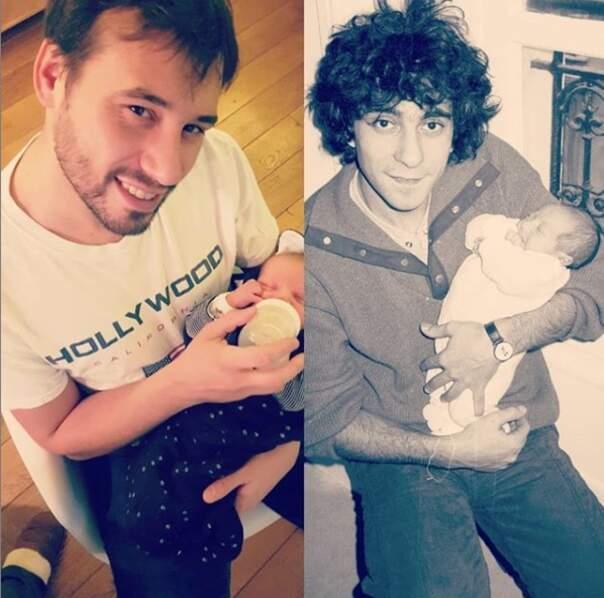 De son chéri et de son fils qu'elle compare à son père