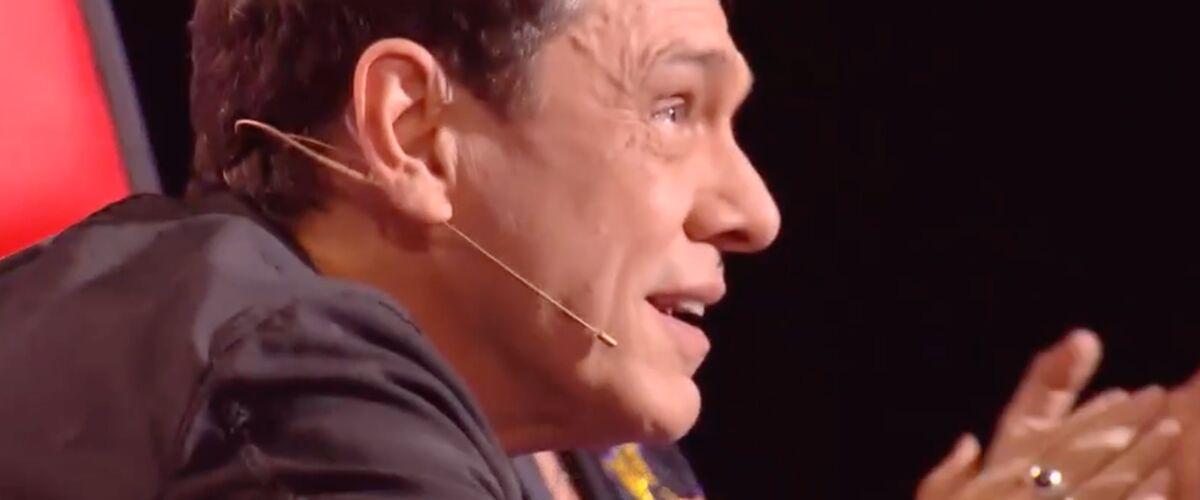 """Marc Lavoine ému aux larmes par l'incroyable prestation d'Antoine Délie dans The Voice : """"J'ai pris une baffe."""