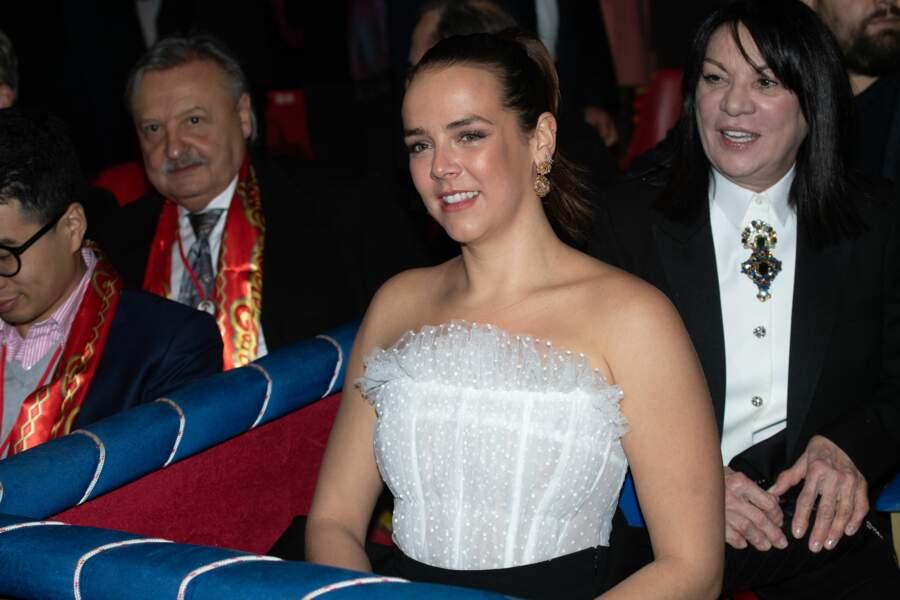 Pauline Ducruet au Festival du cirque de Monaco vendredi 17 janvier 2020