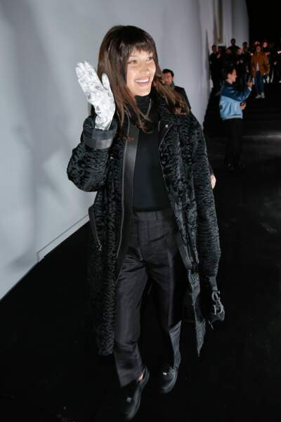 Bella Hadid au défilé Dior Homme