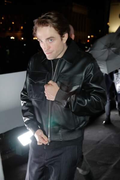 Robert Pattinson au défilé Dior Homme