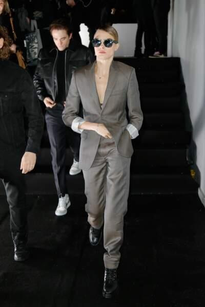 Cara Delevingne au défilé Dior Homme