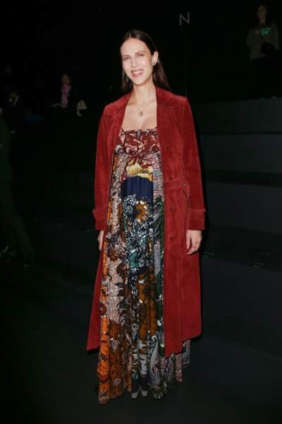 Aymeline Valade au défilé Dior Homme