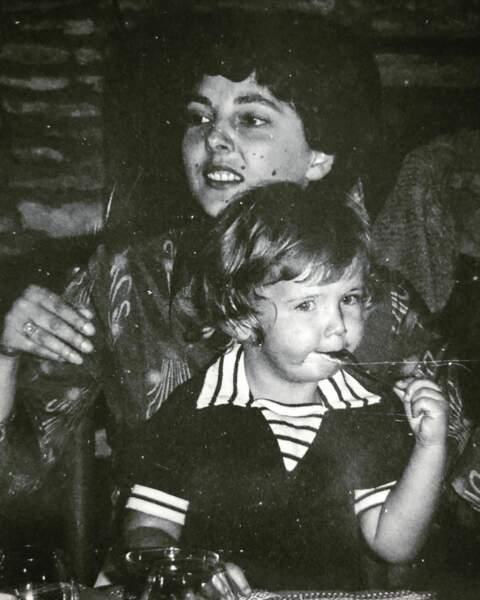Quand Laurent Kérusoré posait avec sa maman