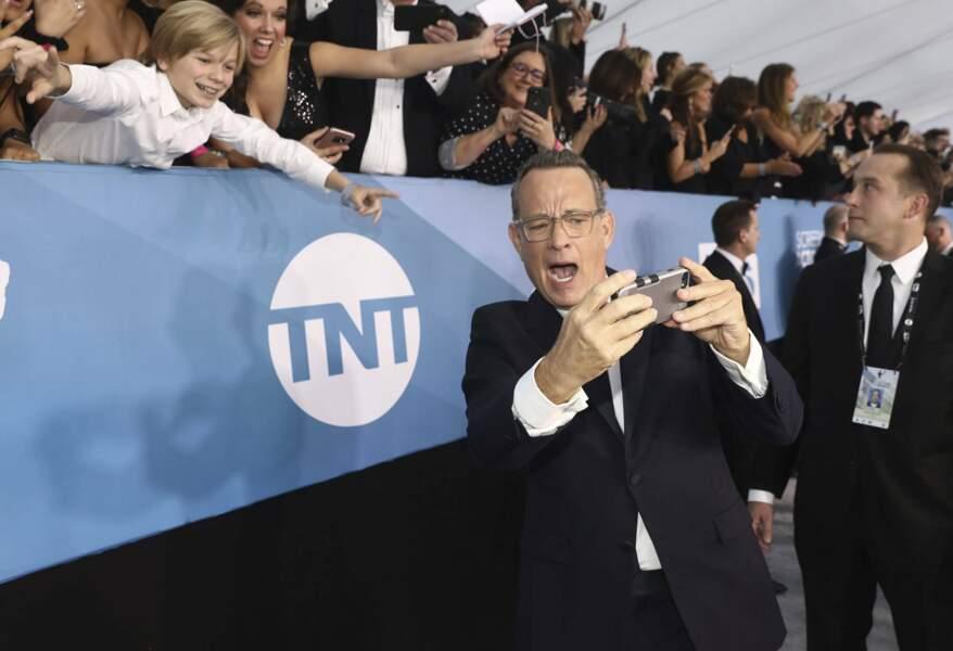 Say Cheeeeeeese à Tom Hanks !