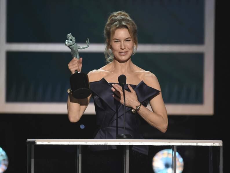 Renee Zellweger, meilleure actrice pour Judy