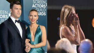 SAG Awards : Scarlett Johansson amoureuse, Jennifer Aniston au bord des larmes... Les temps forts de la cérémonie (PHOTOS)
