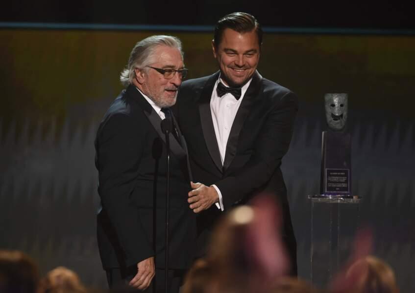Leonardo DiCaprio et Robert De Niro, duo de monstres sacrés