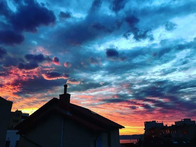 Les couchers de soleil ont toute son affection