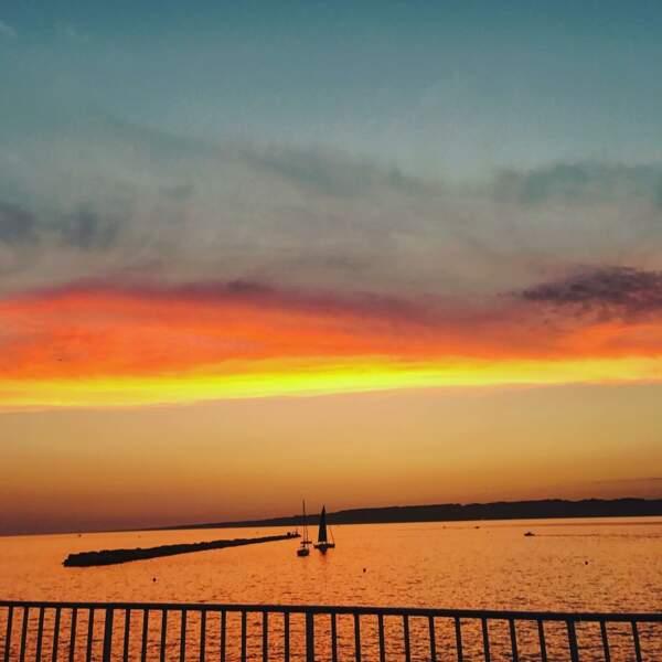 Un coucher de soleil pour bien terminer la journée