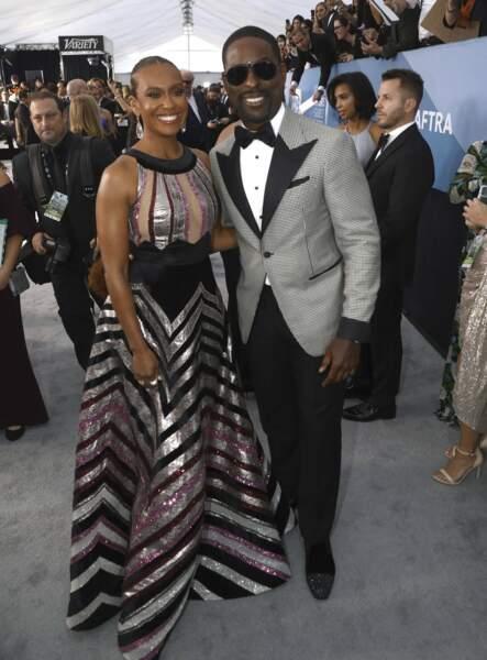 Sterling K. Brown et Ryan Michelle Bathe