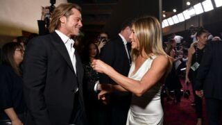 Jennifer Aniston et Brad Pitt très tactiles aux SAG Awards... Les internautes s'enflamment !