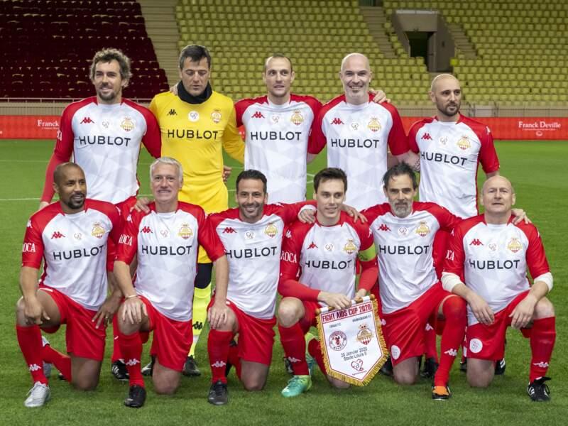 Voici le Barbagiuans FC, l'équipe du prince Albert II !