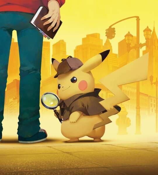 Pikachu dans le jeu Nintendo