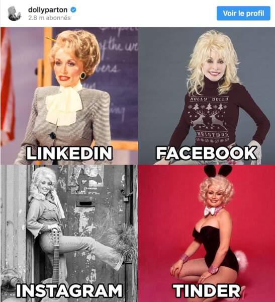C'est Dolly Parton qui a lancé l'idée de ce challenge