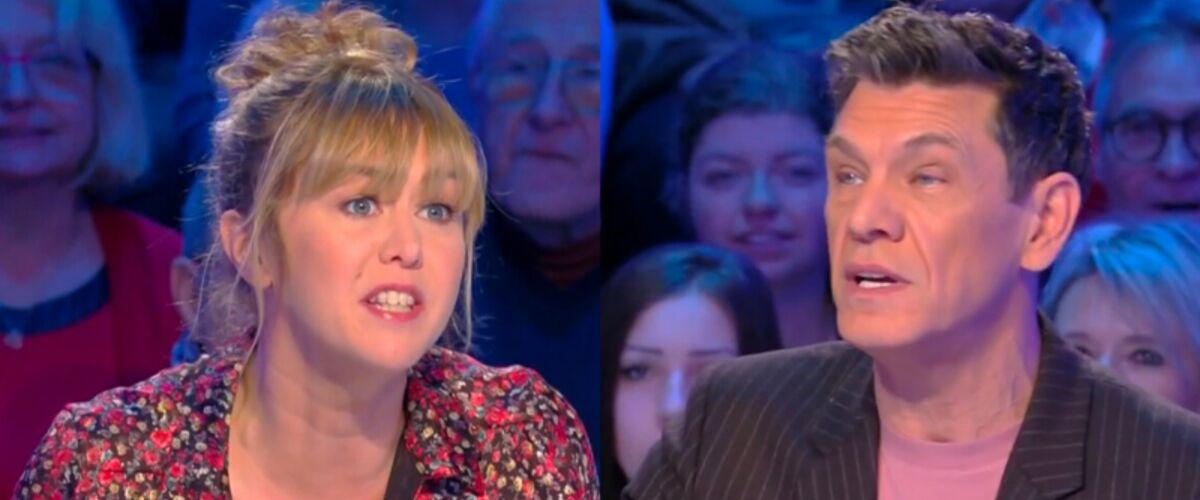 Enora Malagré flingue la télévision, Marc Lavoine l'accuse d'hypocrisie et de cracher dans la soupe (VIDEO)