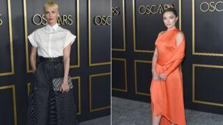 Oscars 2020 : Charlize Theron ultra chic au déjeuner des nommés, Florence Pugh en robe moulante (PHOTOS)