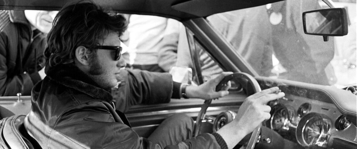 Johnny Hallyday : sa première Ford Mustang vendue aux enchères !