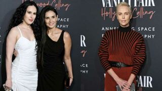 Demi Moore complice avec sa fille Rumer Willis, Charlize Theron sublime à la soirée Vanity Fair (PHOTOS)