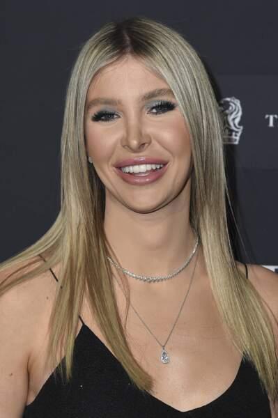 Le mannequin Sophia Hutchins