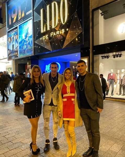 Depuis leur arrivée à Paris, Angel Di Maria et ses proches profitent des charmes de la capitale