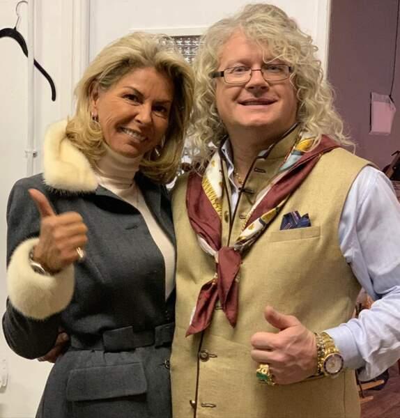 Il est très ami avec Caroline Margeridon, une autre acheteuse phare de l'émission.
