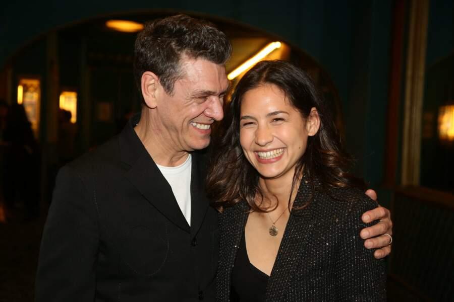 Marc Lavoine et sa compagne Line Papin