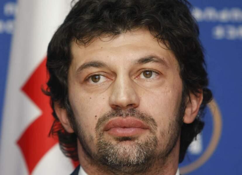 Kakha Kaladze (ex-Milanc AC) a atteint le poste de ministre de l'Energie et des Ressources naturelles de Géorgie